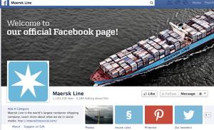 Maersk Facebook